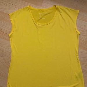 Susan graver yellow shirt